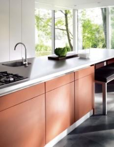 Axor Uno² Einhebelküchenarmatur aus Edelstahl von Hansgrohe