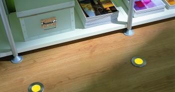 Auch farbige Bodenleuchten sind möglich Bild: Terhuerne