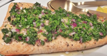 "Gegrillter Lachs ""Chimichurri-Style"""