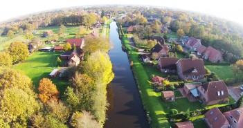 Dächer in Ostfriesland