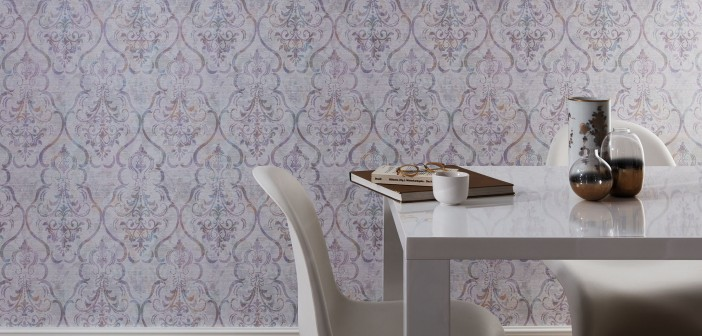 Tapete Modern Elegant : Fotorealismus, Knitterfalten, Naturdessins ...