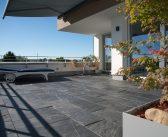 Schiefer auf der Terrasse: Trendy & einzigartig