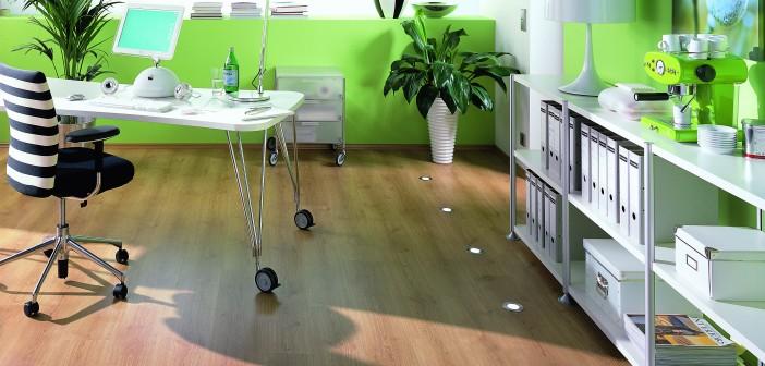 Bodenleuchten geben jedem Raum das gewisse Etwas. Bild: Terhuerne