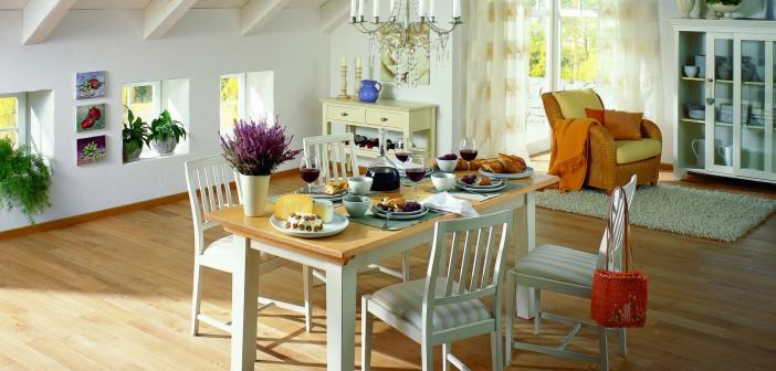 Natürliche Holzdielen für gemütliche Wohnräume Bild: Terhürne