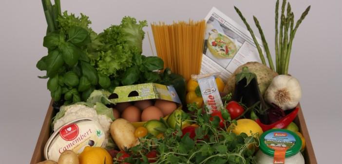 Kochbox mit nachhaltigem Fleisch und Gemüse © KommtEssen