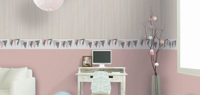 Die ersten Wohlfühloasen Tapeten für Kinder- und Jugendzimmer