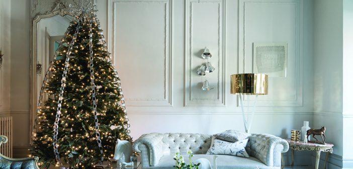 Weihnachtliche Gestaltungsideen von Farrow & Ball